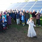 New £1.1m community solar plant lights up 55,000 bulbs